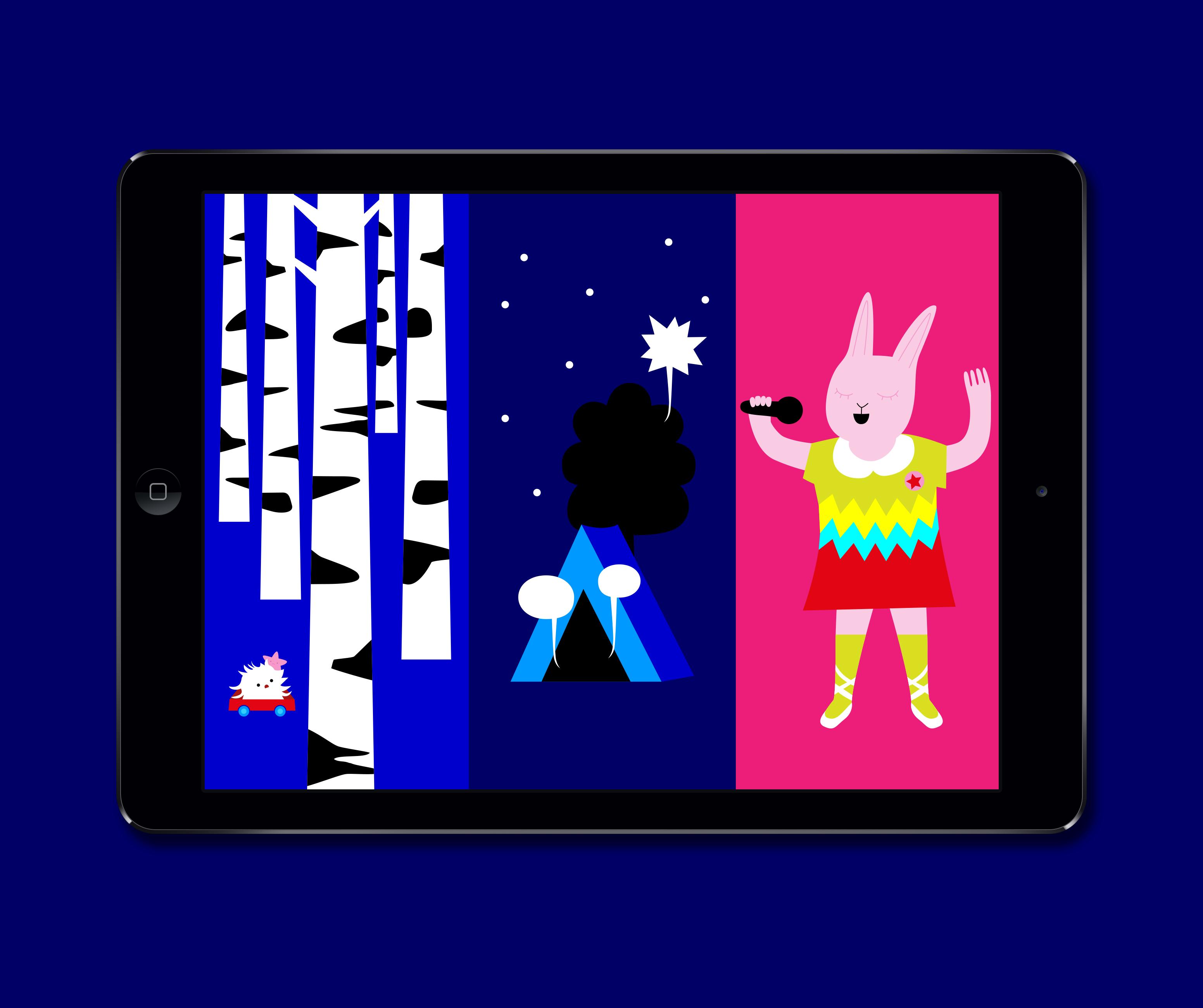Character Design Ipad App : Character design ipad app character design andreas olofsson